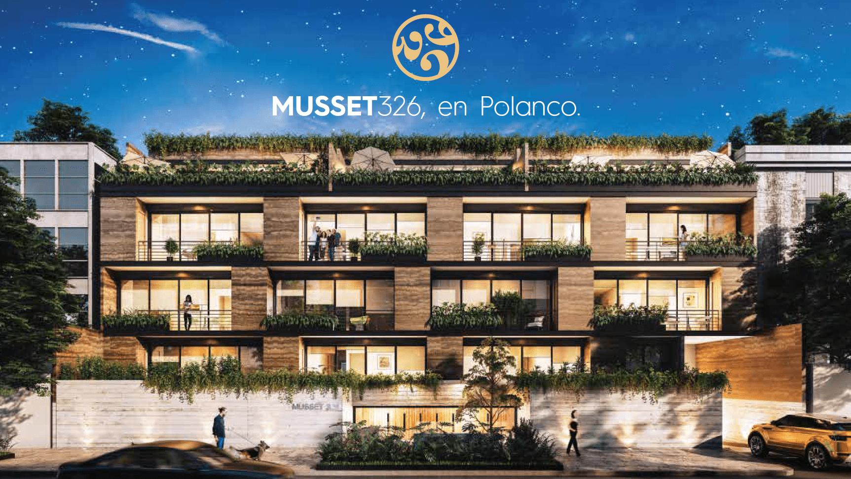 Departamentos en Musset 326, Polanco
